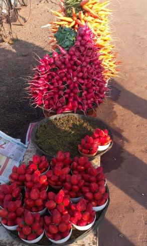 Seasonal Produce : Mahabaleshwar, India